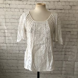 Anthropologie Meadow Rue Top XS